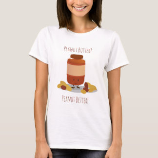 Camiseta O t-shirt bonito das mulheres do frasco | da