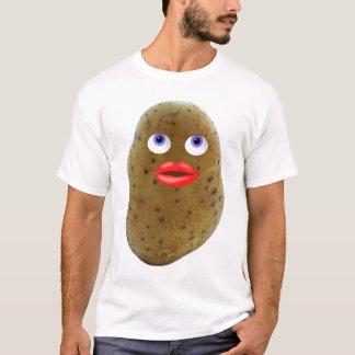 Camiseta O t-shirt bonito dos homens engraçados do caráter