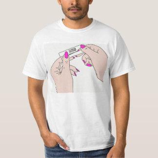 Camiseta O t-shirt branco dos homens das árvores do