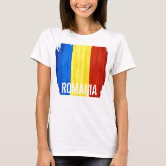 Camiseta O t-shirt cabido das mulheres da bandeira de país
