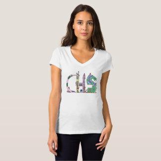 Camiseta O t-shirt | CHARLESTON das mulheres, SC (CHS)
