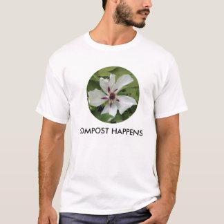 Camiseta O t-shirt, CÍRCULO # 2, Dogwood, ADUBO ACONTECE