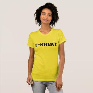 Camiseta O t-shirt clássico Curto-Sleeved das mulheres de