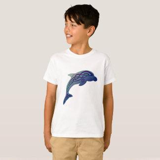 Camiseta O t-shirt da criança celta do golfinho