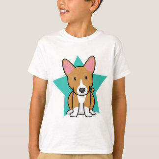 Camiseta O t-shirt da criança de Basenji da estrela de
