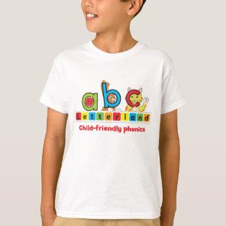 Camiseta O t-shirt da criança de Letterland |