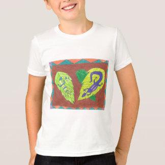 Camiseta O t-shirt da criança dos lagartos