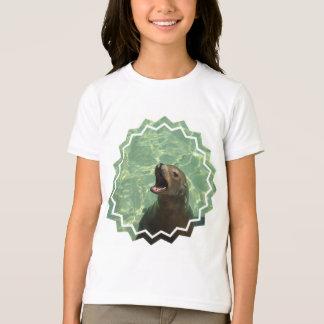 Camiseta O t-shirt da menina Chatty do leão de mar