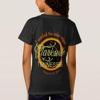 Camiseta O t-shirt da menina de Clarksville TN do eclipse