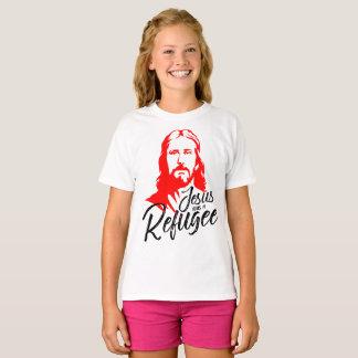Camiseta O t-shirt da menina de Jesus