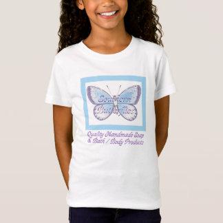 Camiseta O t-shirt da menina do sul das borboletas