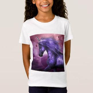 Camiseta O t-shirt da menina do unicórnio