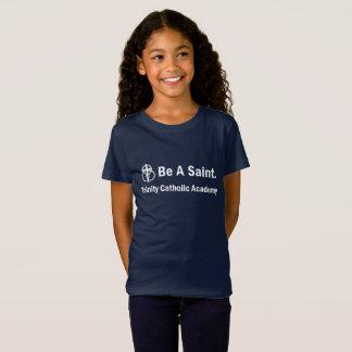 Camiseta O t-shirt da menina: Seja Saint