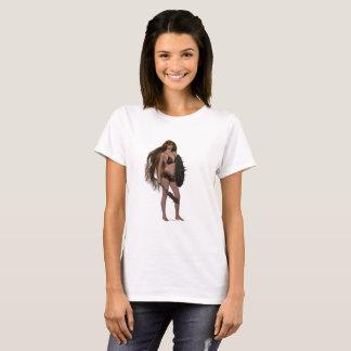 Camiseta O t-shirt da mulher
