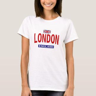 Camiseta O t-shirt da mulher de Londres Inglaterra