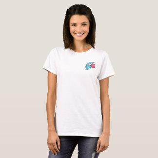 Camiseta O t-shirt da mulher do amor de CarbonFin
