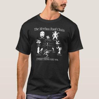 Camiseta O t-shirt da obscuridade da cadeia alimentar de