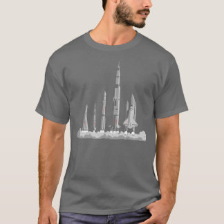 Camiseta O t-shirt da raça do espaço