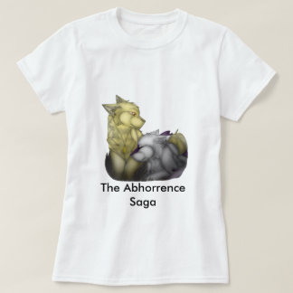 Camiseta O t-shirt da saga do Abhorrence