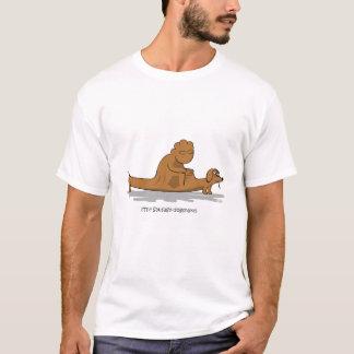 Camiseta O t-shirt da Salsicha-dogsnake