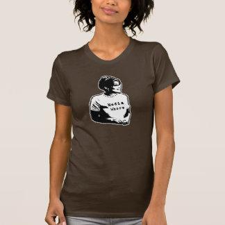 Camiseta O t-shirt das anti mulheres engraçadas de Sarah