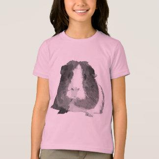 """Camiseta O t-shirt das crianças da cobaia de B&W """"Betty"""""""