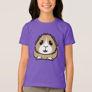 Camiseta O t-shirt das crianças da cobaia dos desenhos
