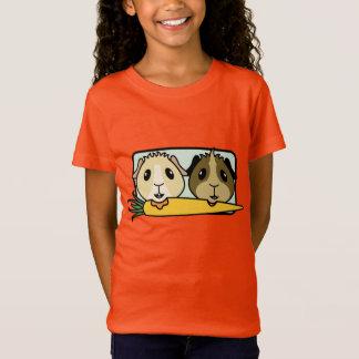 Camiseta O t-shirt das crianças do salvamento da cobaia de