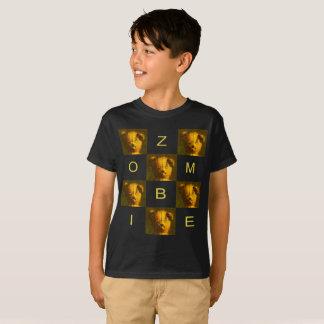 Camiseta O t-shirt das crianças do urso de ursinho do zombi