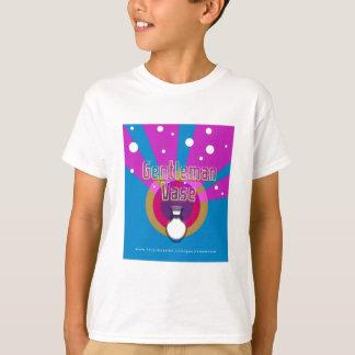 Camiseta O t-shirt das crianças do vaso do cavalheiro
