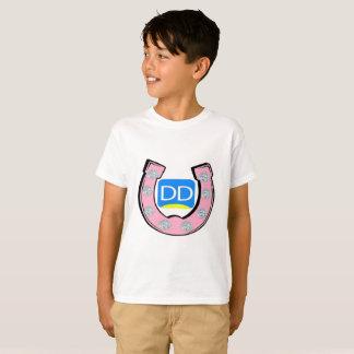 Camiseta O t-shirt das crianças (unisex) com grande