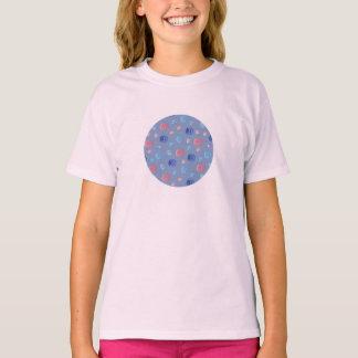 Camiseta O t-shirt das meninas chinesas das lanternas