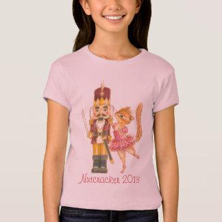 Camiseta O t-shirt das meninas do balé do Nutcracker