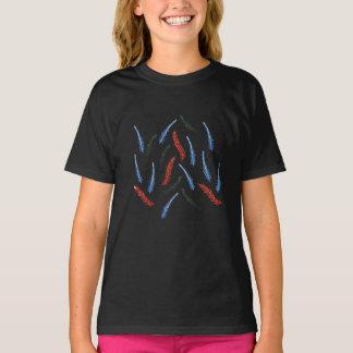Camiseta O t-shirt das meninas do ramo