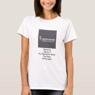 Camiseta O t-shirt das mulheres básicas do comité da