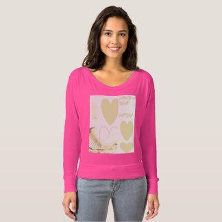 Camiseta o t-shirt das mulheres bonitas