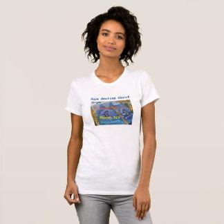 Camiseta O t-shirt das mulheres cristãs de Truckee River