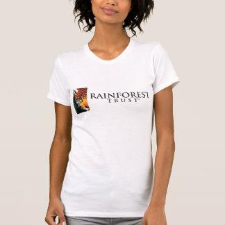 Camiseta O t-shirt das mulheres da confiança da floresta