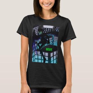 Camiseta O t-shirt das mulheres da elevação