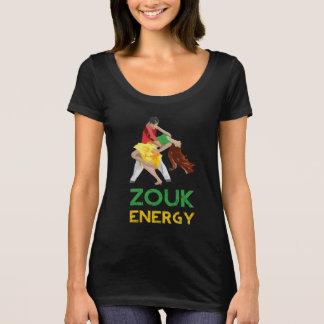 Camiseta O t-shirt das mulheres da energia de Zouk