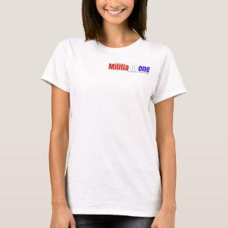 Camiseta O t-shirt das mulheres da liberdade e dos valores