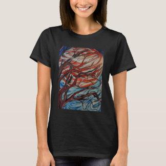 Camiseta O t-shirt das mulheres da lua de Jupiter