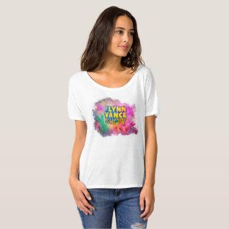 Camiseta O t-shirt das mulheres da mostra de Lynn Vance
