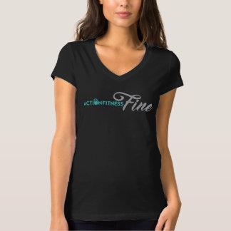 Camiseta O t-shirt das mulheres da multa da malhação da