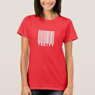 Camiseta O t-shirt das mulheres da PARCIMÔNIA (escuro)