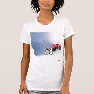 Camiseta O t-shirt das mulheres da rota 66