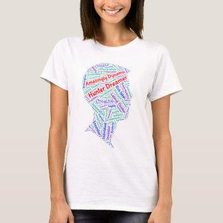 Camiseta O t-shirt das mulheres de ADHD inspirador