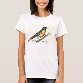 Camiseta O t-shirt das mulheres de Baltimore Oriole