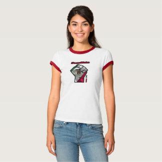Camiseta O t-shirt das mulheres de Fuerza México