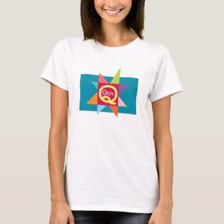 Camiseta O t-shirt das mulheres de GenQ